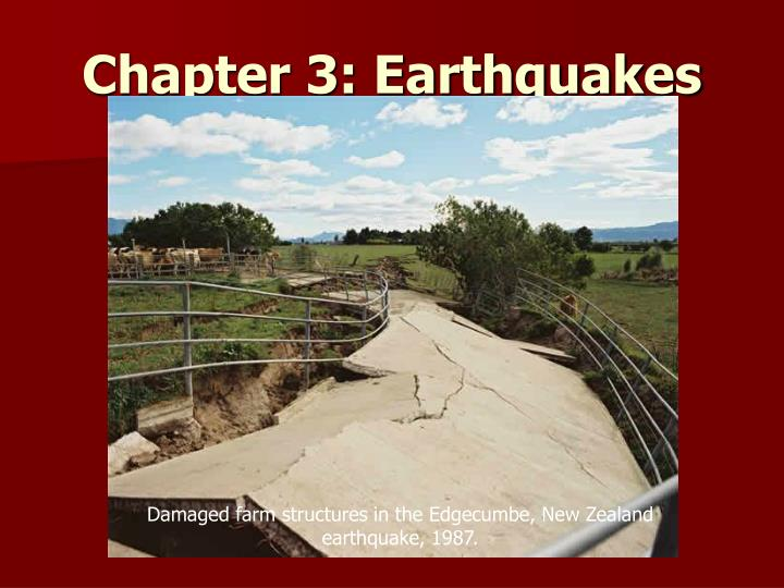 chapter 3 earthquakes n.