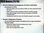pstn basics 11 15