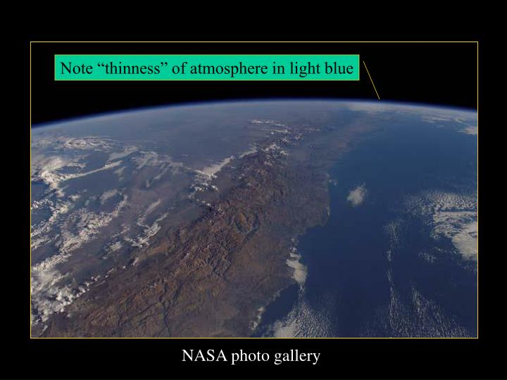"Note ""thinness"" of atmosphere in light blue"