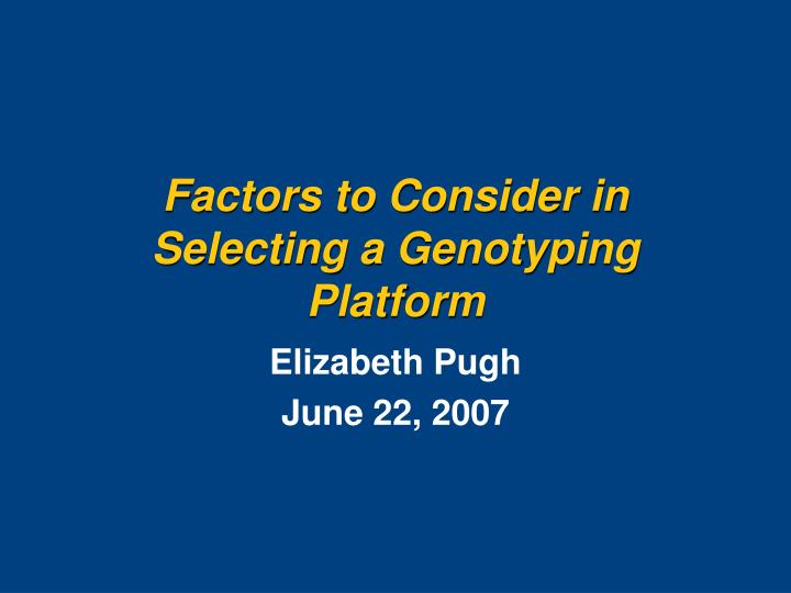 factors to be consider in selecting A research must identify the major factors to be considered in selecting a research problem the research problem undertaken should be meticulously selected.
