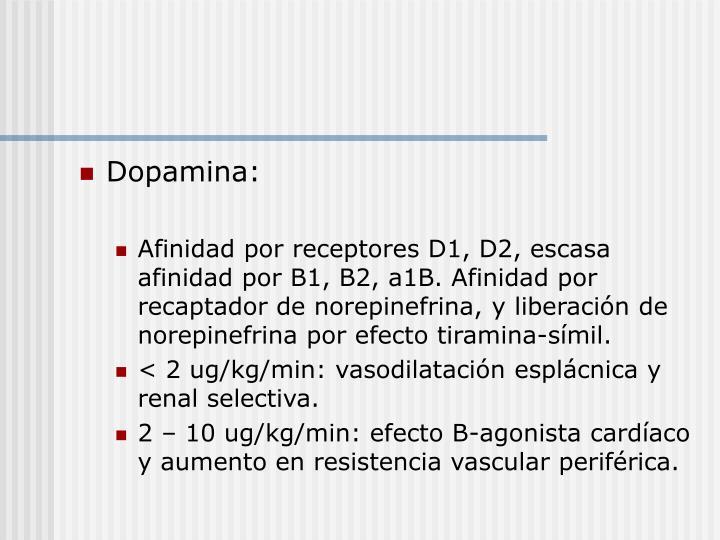 Dopamina: