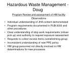 hazardous waste management doug