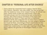 chapter iii personal life after divorce