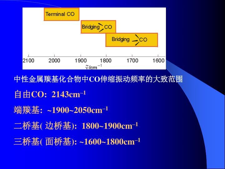 中性金属羰基化合物中