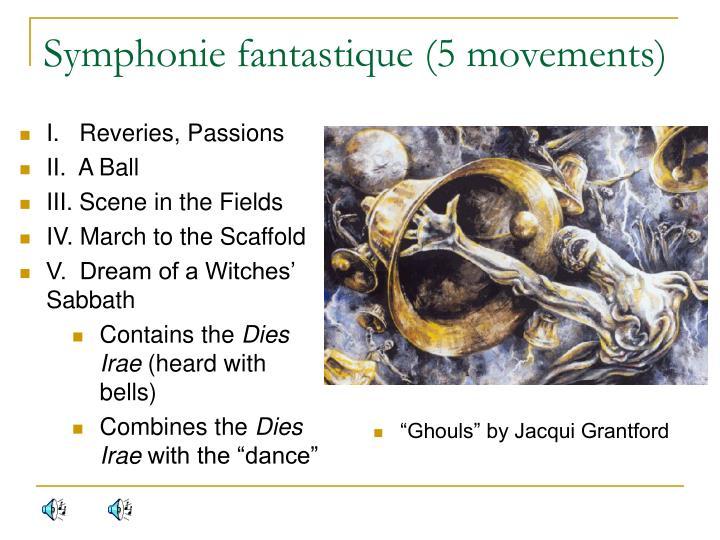Symphonie fantastique (5 movements)