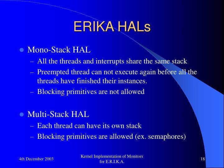 ERIKA HALs