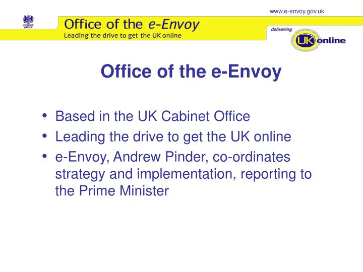 Office of the e envoy