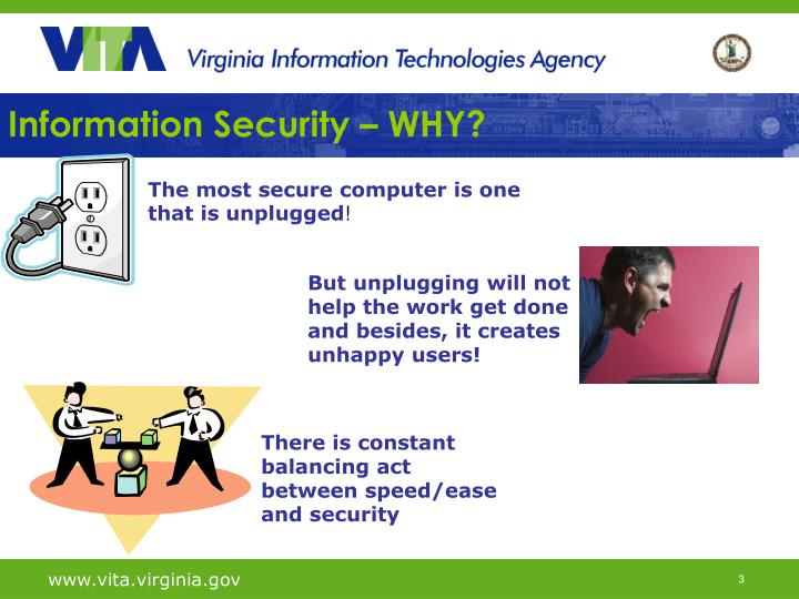 Information security why1