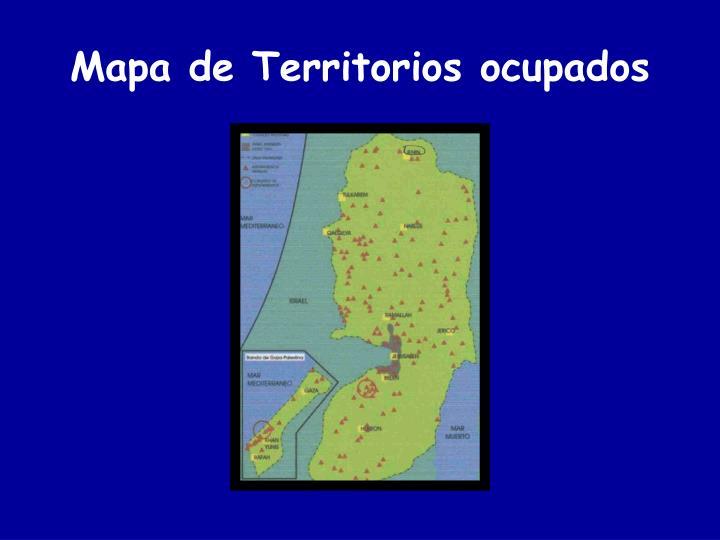Mapa de territorios ocupados