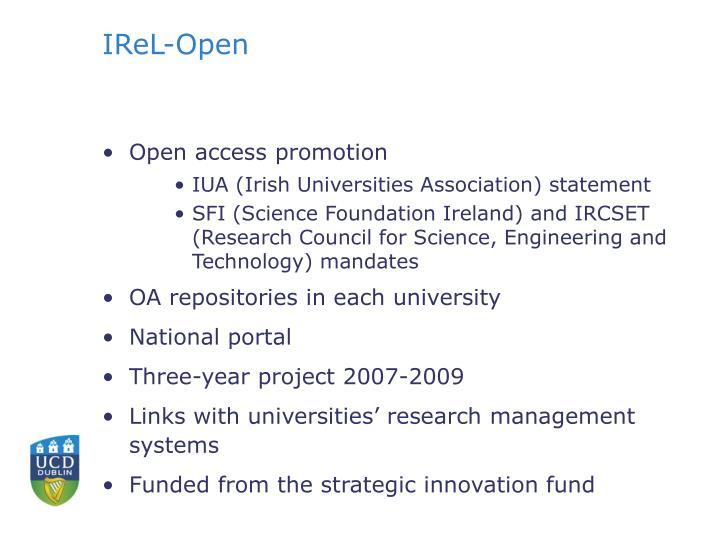 IReL-Open