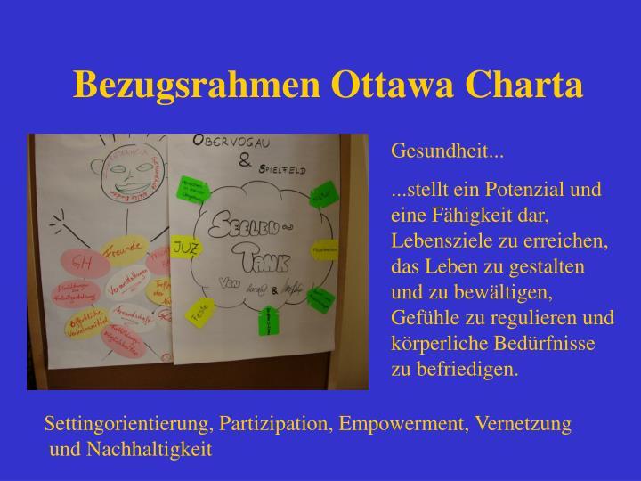 Bezugsrahmen Ottawa Charta