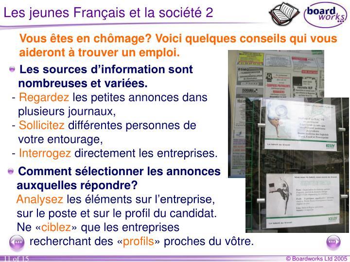 Les jeunes Français et la société 2