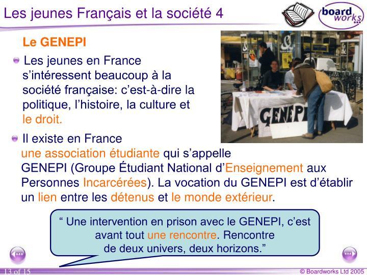 Les jeunes Français et la société 4