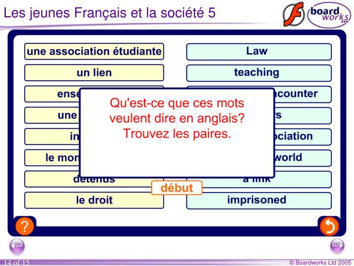 Les jeunes Français et la société 5
