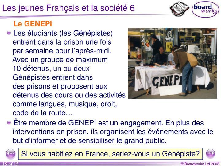 Les jeunes Français et la société 6