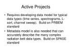 active projects1