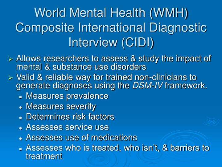 mental health service user case study This study critically engages with the concept of 'recovery' which has become a dominant discursive feature in the uk mental health policies it asks 'what people recover from' through a case study of chinese mental health service users in the uk the dominant recovery approach under the.