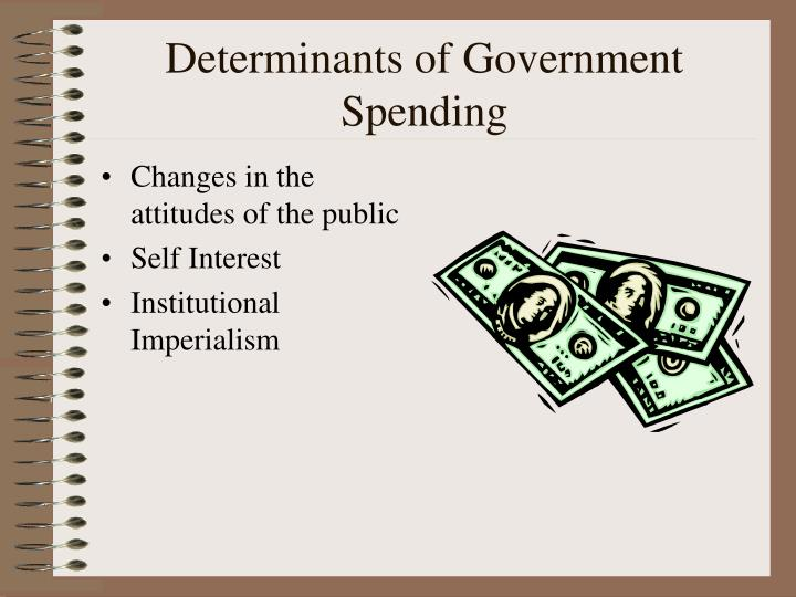 Determinants of Government Spending