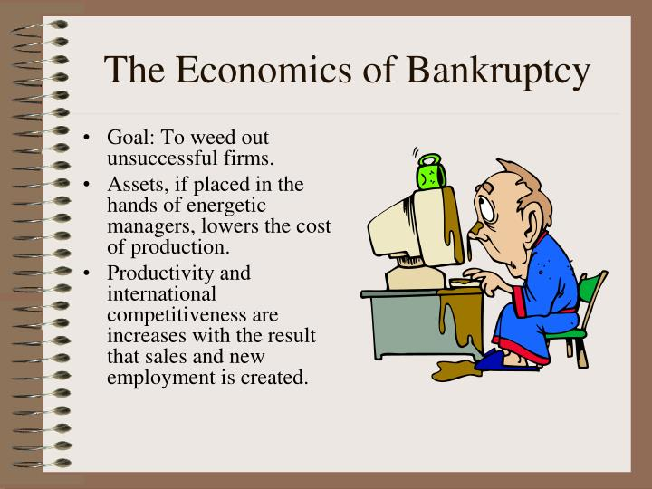 The Economics of Bankruptcy