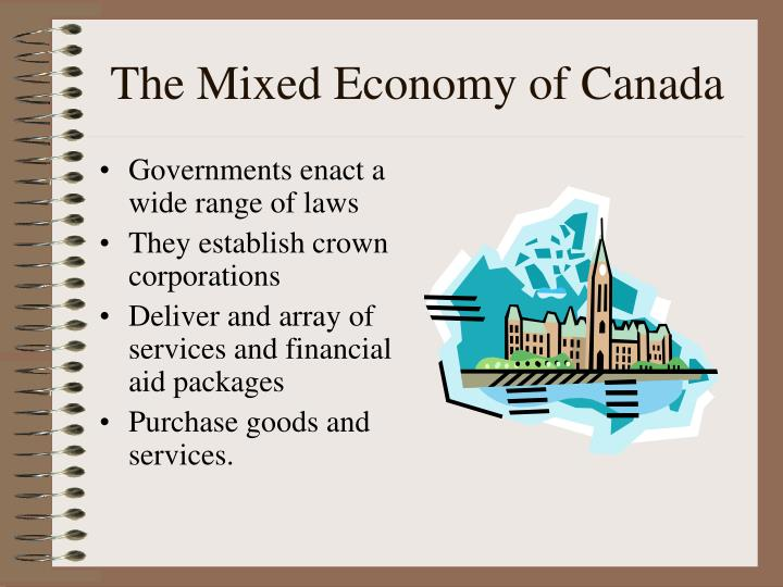 The Mixed Economy of Canada