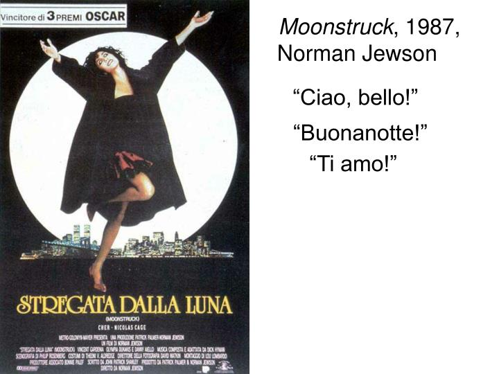 """Ciao, bello!"""