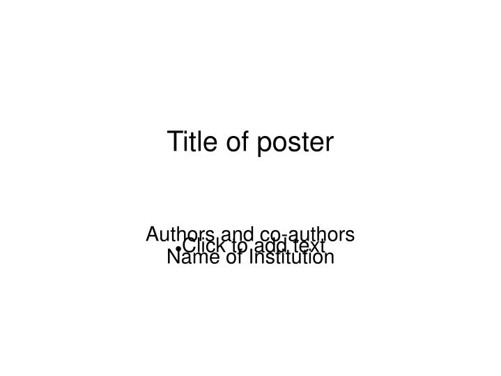 authors and co authors name of institution n.