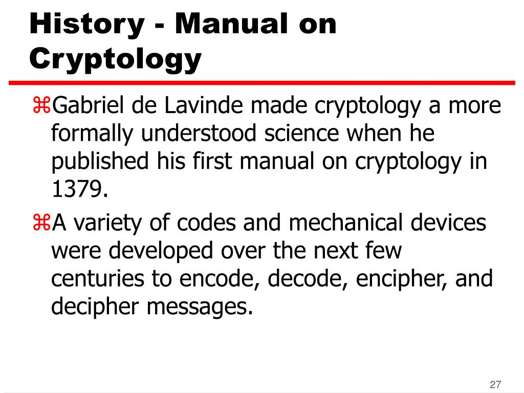 PPT - Encryption and Cryptography PowerPoint Presentation - ID:5148796