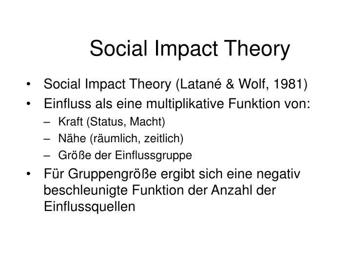the impact of sociological theories in Theories in sociology provide us with different perspectives with which to view our social world a perspective is simply a way of looking at the world a theory is a set of interrelated.