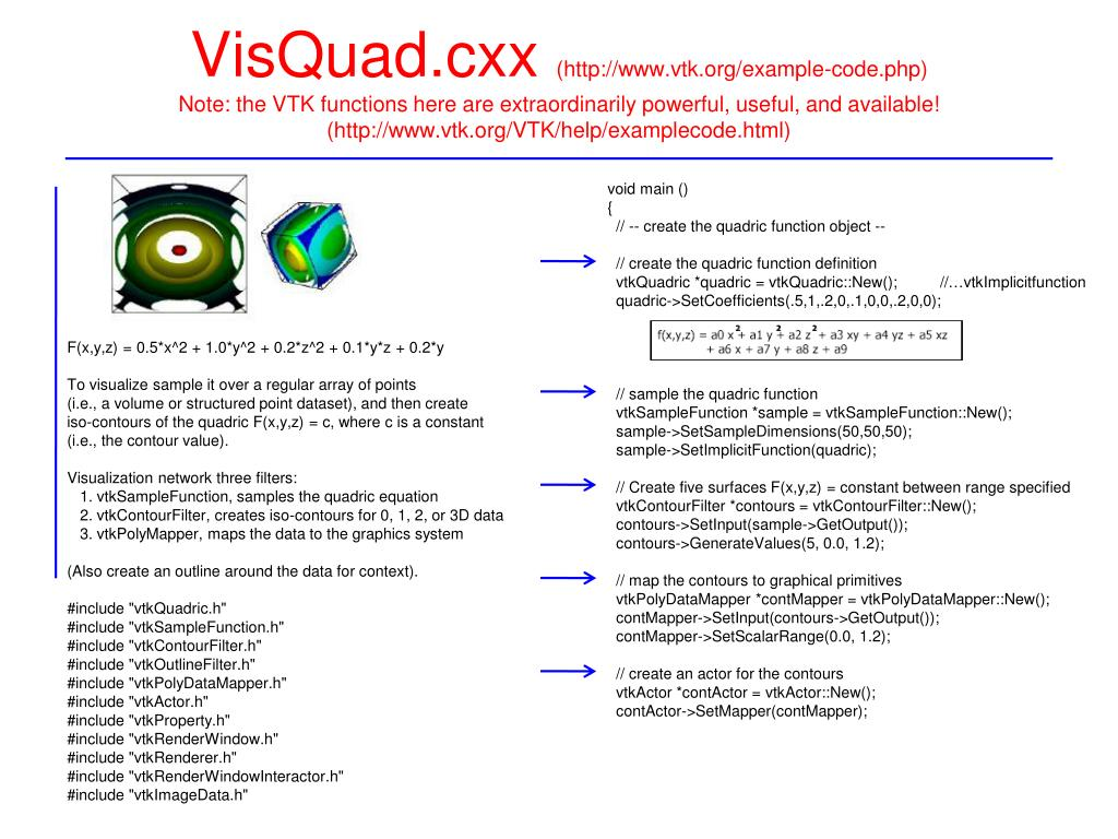 PPT - VTK Visualization Pipeline PowerPoint Presentation