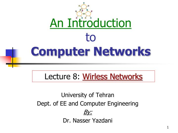 an introduction to computer networks n.