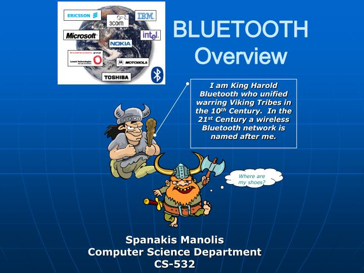 bluetooth overview n.