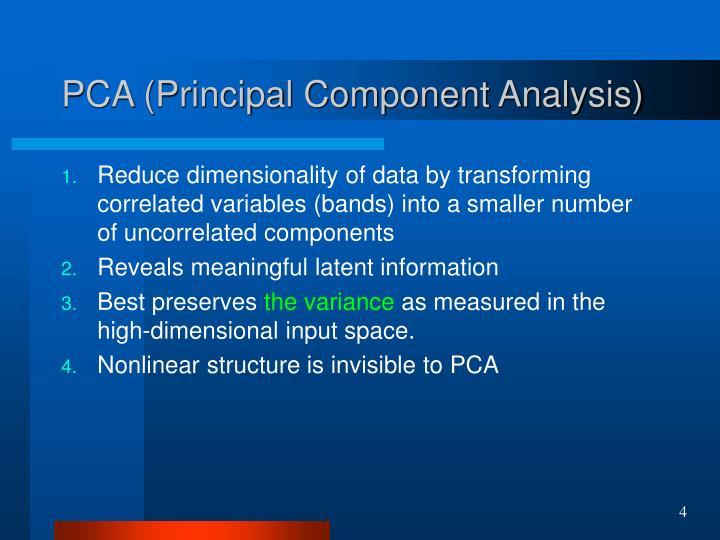 PCA (Principal Component Analysis)