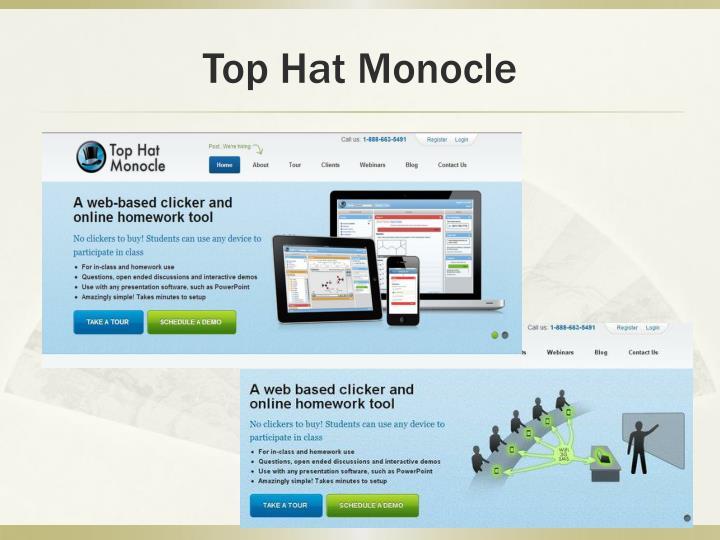 Top Hat Monocle