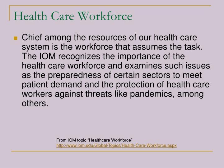 Health Care Workforce