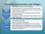 12 3 early communities and villages