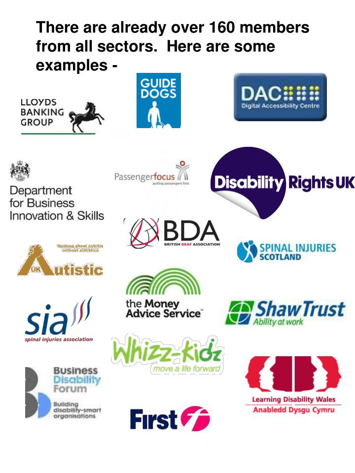 There are already over 160 members from all sectors.  Here are some examples -