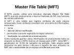 master file table mft