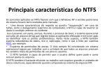 principais caracter sticas do ntfs