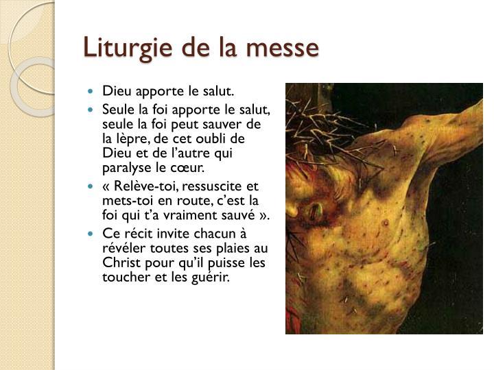 Liturgie de la messe
