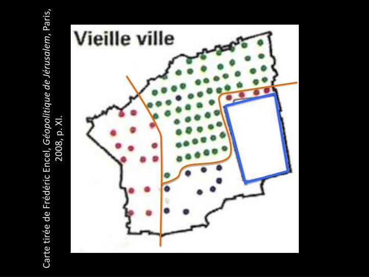 Carte tirée de Frédéric Encel,