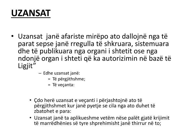 UZANSAT