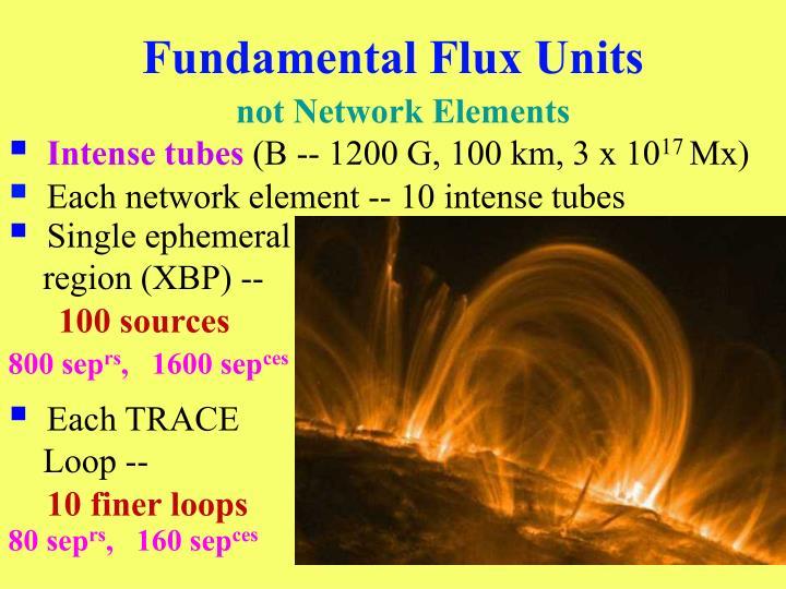 Fundamental Flux Units