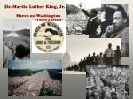 dr martin luther king jr march on washington i have a dream