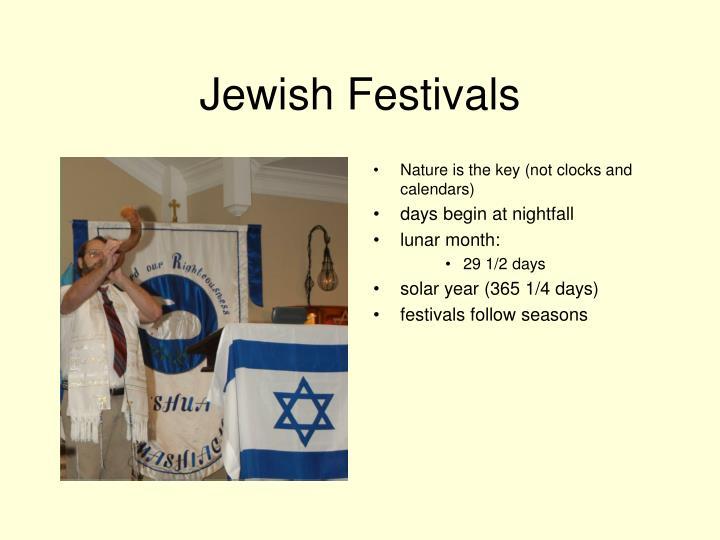 Jewish festivals