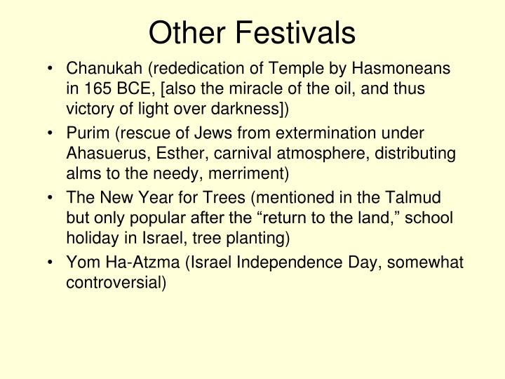 Other Festivals
