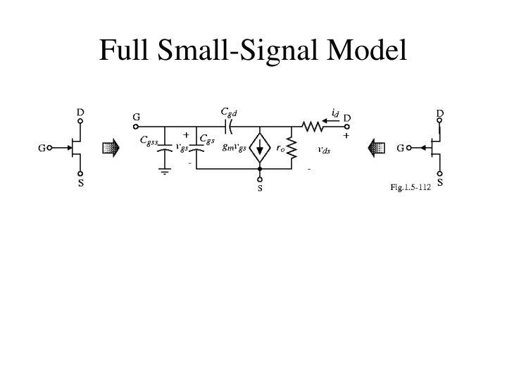 Full Small-Signal Model