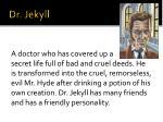 dr jekyll