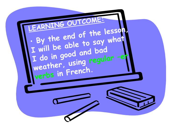 LEARNING OUTCOME: