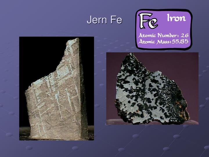 Jern Fe