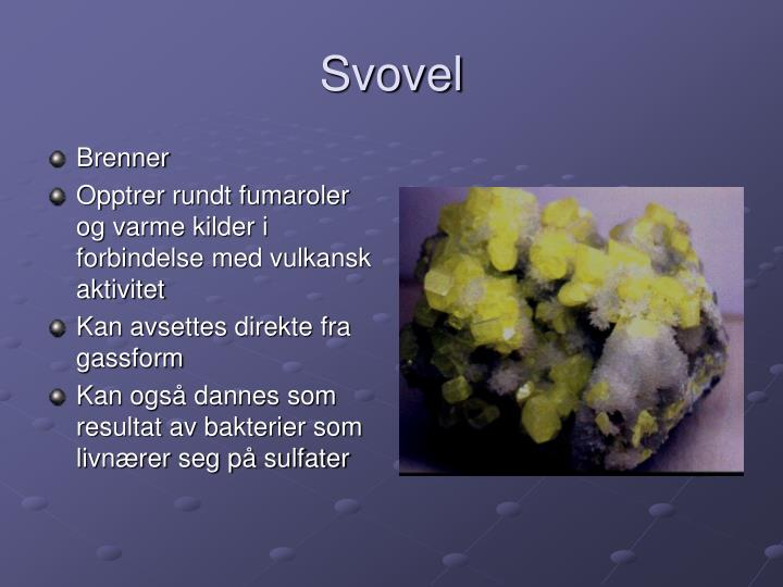 Svovel